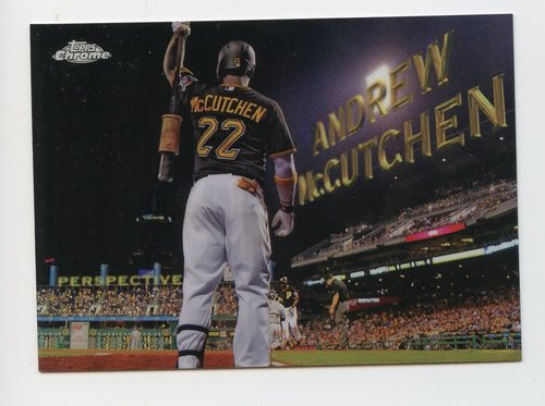 Photo of 2016 Topps Chrome Perspectives #PC1 Andrew McCutchen