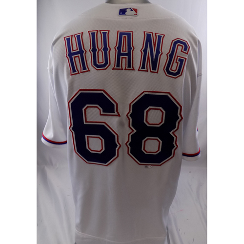 Photo of White Team-Issued Jersey - Wei-Chieh Huang - 10/8/19