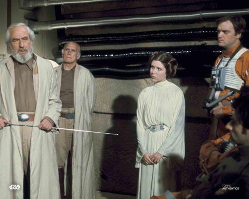 Princess Leia Organa, Gold Leader and General Jan Dodonna