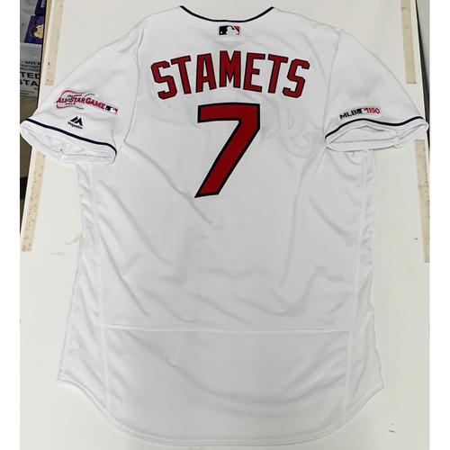 Eric Stamets Team Issued 2019 Home Jersey