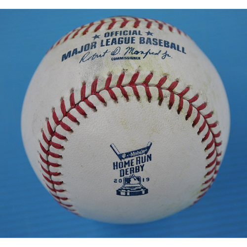Photo of Game-Used Baseball - 2019 Home Run Derby - Pete Alonso - Round 2 - Out