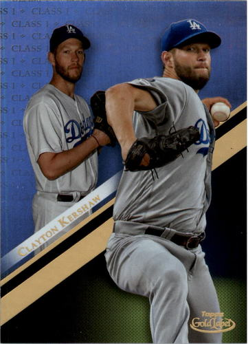 Photo of 2019 Topps Gold Label Class 1 #34 Clayton Kershaw