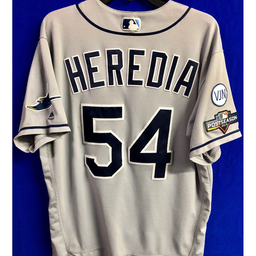 Photo of Team Issued Postseason Road Gray Jersey: Guillermo Heredia - 2019