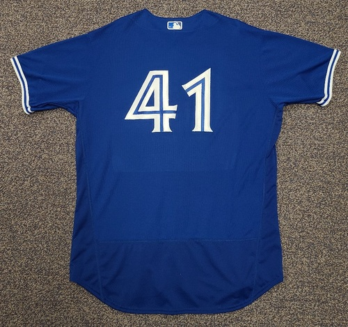 Photo of Authenticated Team Issued 2020 Spring Training Jersey: #41 Rafael Dolis. Size 50