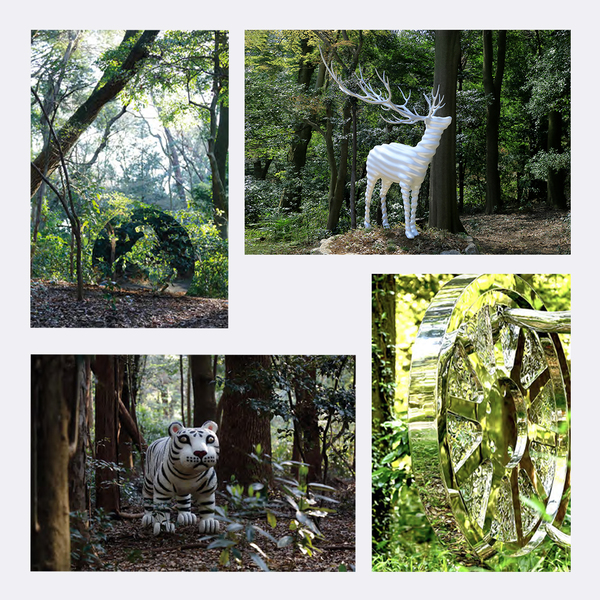 Photo of 野外彫刻展「天空海闊」<br>ポストカード4種-Cセット
