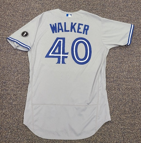 Photo of Authenticated Team Issued Jersey: #40 Pete Walker (2020 Season). Set 2. Size 46.