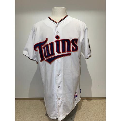 Minnesota Twins: 2015 Game-Used Autographed Byron Buxton Jersey