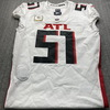 STS - Falcons Alex Mack Game Used Jersey (11/8/20) Size 46 w/ Captains Patch