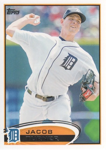 Photo of 2012 Topps #358 Jacob Turner