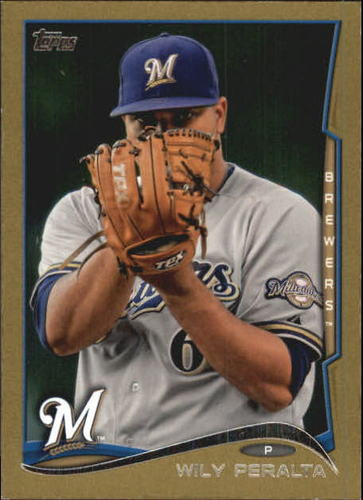 Photo of 2014 Topps Mini Gold #96 Wily Peralta