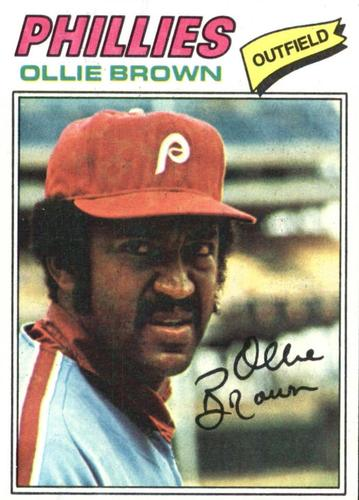 Photo of 1977 Topps #84 Ollie Brown
