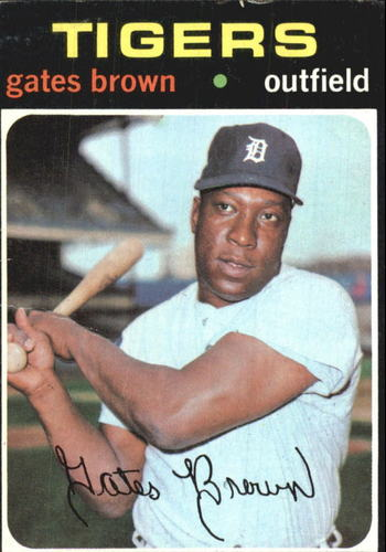 Photo of 1971 Topps #503 Gates Brown