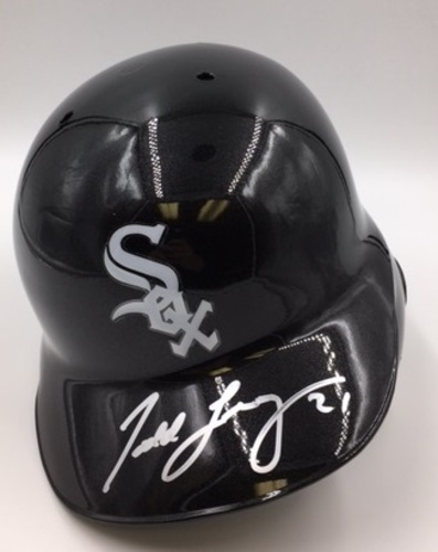 Todd Frazier Autographed White Sox Batting Helmet