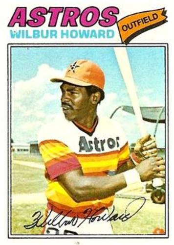 Photo of 1977 Topps #248 Wilbur Howard