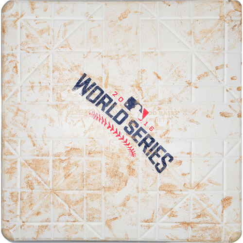 2016 World Series Game 3: Game-used 2nd Base, Used during 7th and 8th Innings