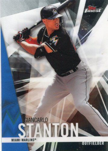 Photo of 2017 Finest #29 Giancarlo Stanton