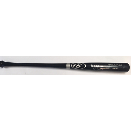 "Photo of Dave Winfield ""3,110 hits"" Autographed Rawlings Bat"