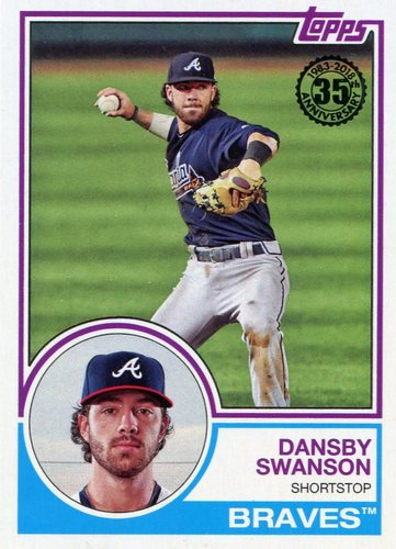 Photo of 2018 Topps '83 Topps #8346 Dansby Swanson
