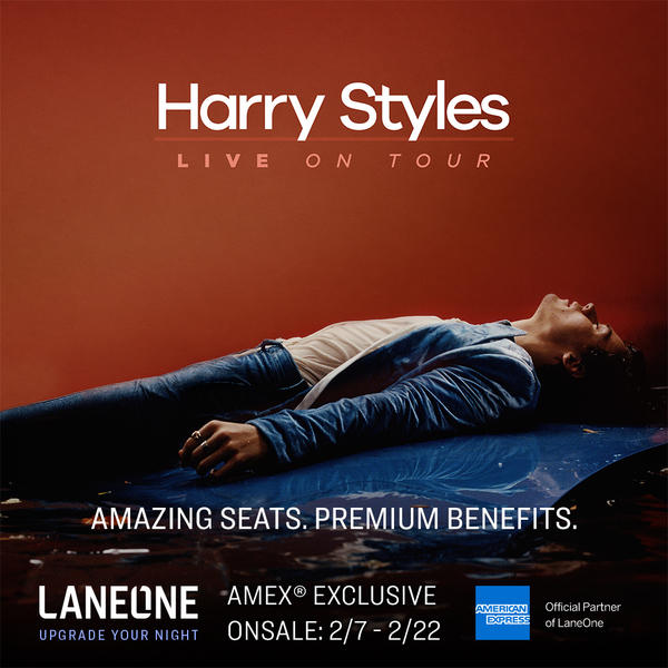 Click to view Harry Styles Premium Concert Experience.