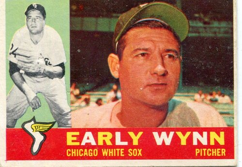Photo of 1960 Topps #1 Early Wynn -- Hall of Fame Class of 1972