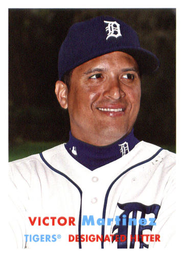 Photo of 2015 Topps Archives #48 Victor Martinez
