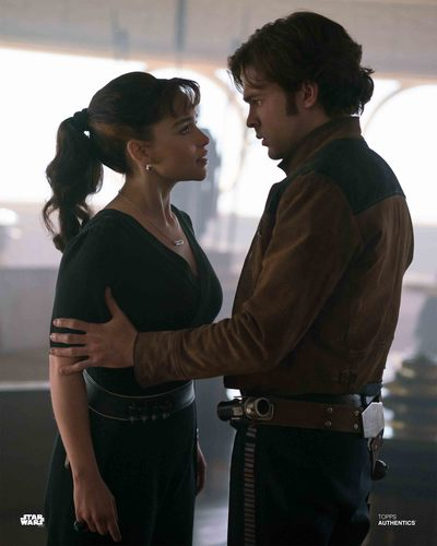 Han Solo and Qi'Ra