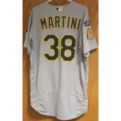 Photo of Game-Used Nick Martini 2018 Jersey