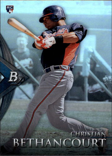 Photo of 2014 Bowman Platinum #94 Christian Bethancourt RC