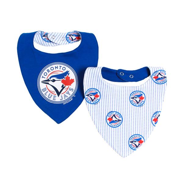 Toronto Blue Jays Baby Bandana Bibs by Snugabye
