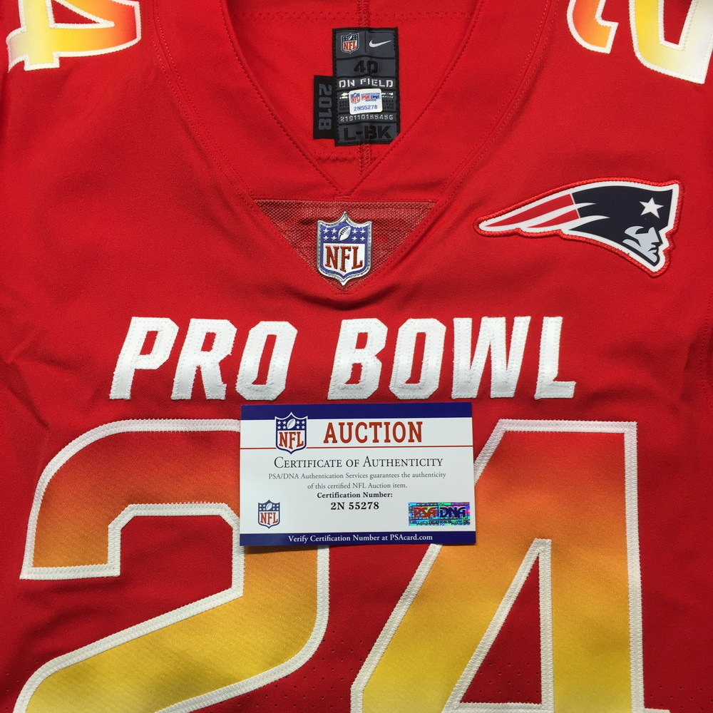 big sale 02136 a7ecd NFL Auction | NFL - Patriots Stephon Gilmore Game Issued ...