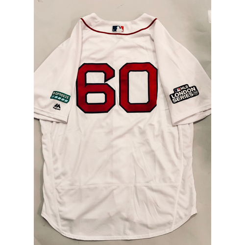 2019 London Series - Game-Used Jersey - Dana LeVangie, New York Yankees vs Boston Red Sox - 6/29/19
