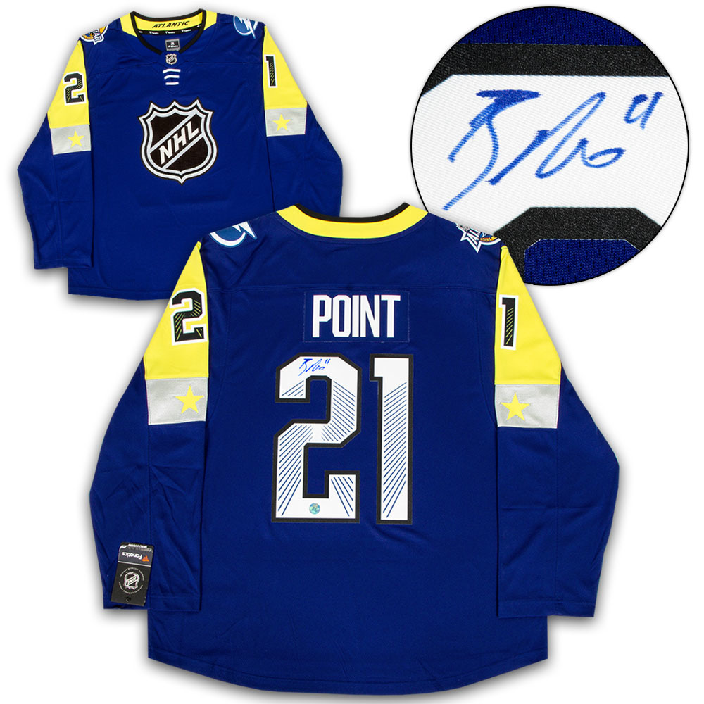 Brayden Point 2018 All Star Game Autographed Fanatics Hockey Jersey