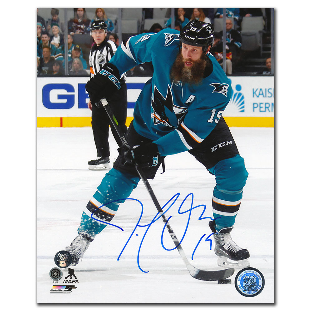 Joe Thornton San Jose Sharks PLAYMAKER Autographed 8x10