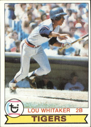 Photo of 1979 Topps #123 Lou Whitaker