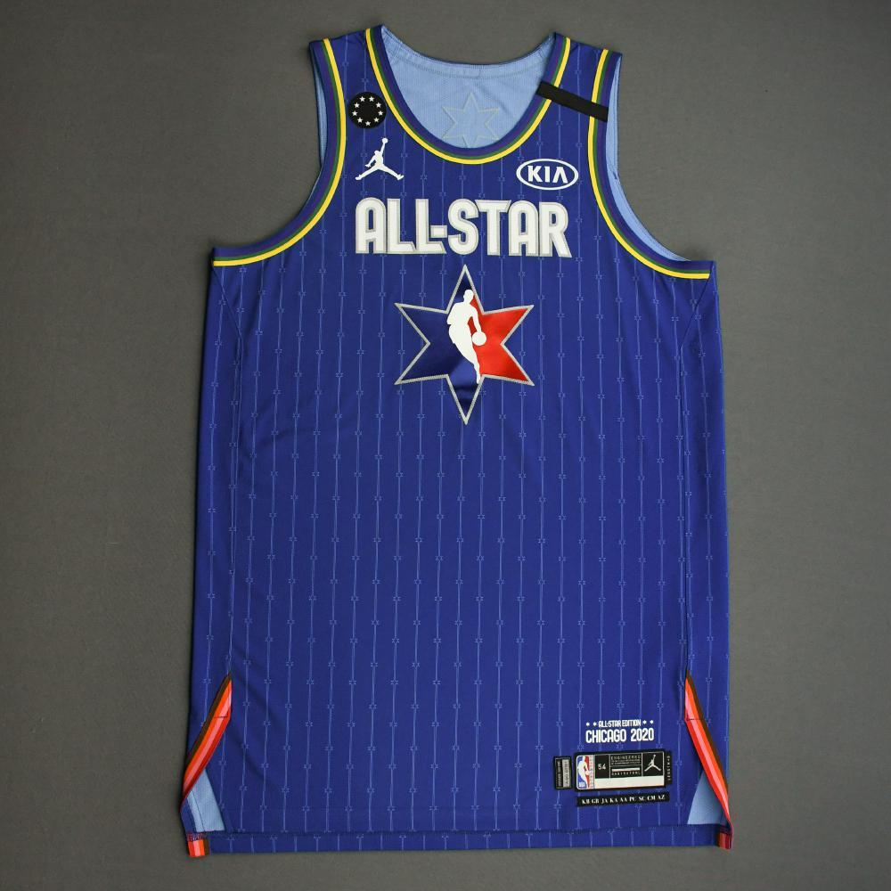 Anthony Davis - 2020 NBA All-Star - Team LeBron - Autographed Jersey