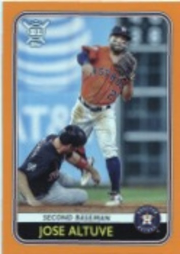 Photo of 2020 Topps Big League Orange #220 Jose Altuve