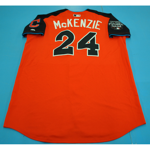 Photo of 2017 Futures Game - Triston McKenzie Batting Practice Worn Jersey