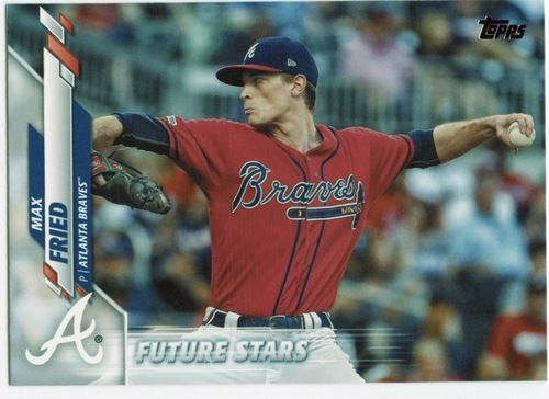 Photo of 2020 Topps #355 Max Fried FS
