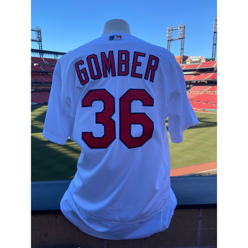 Photo of Cardinals Authentics: Team Issued Austin Gomber Cardenales Jersey