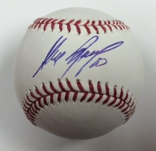 Photo of Alexei Ramirez Autographed Baseball