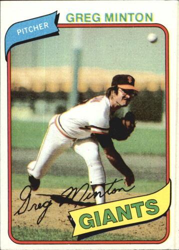 Photo of 1980 Topps #588 Greg Minton