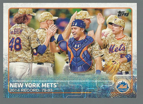 Photo of 2015 Topps #24 New York Mets