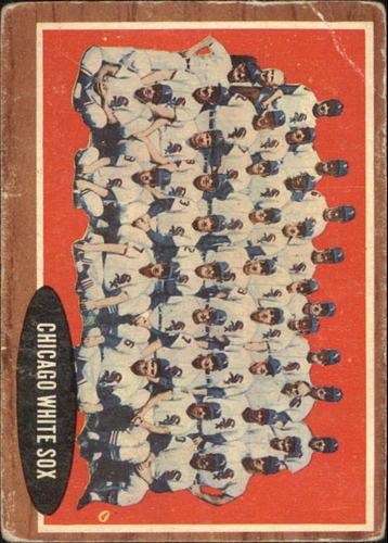 Photo of 1962 Topps #113 Chicago White Sox TC