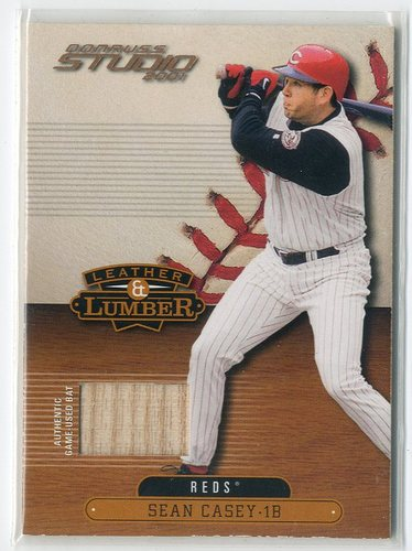 Photo of 2001 Studio Leather and Lumber #LL9 Sean Casey SP