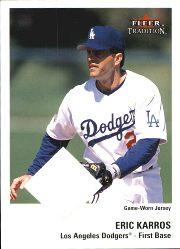 Photo of 2003 Fleer Tradition Game Used #97 Eric Karros Jsy