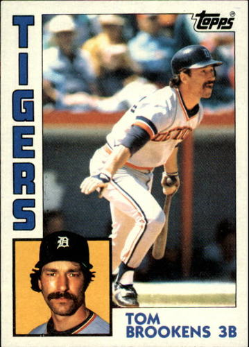Photo of 1984 Topps #14 Tom Brookens