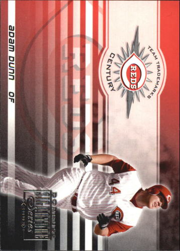 Photo of 2003 Donruss Signature Team Trademarks Century #1 Adam Dunn