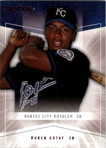 Photo of 2005 SkyBox Autographics Royal Insignia #105 Ruben Gotay ROO #d/25