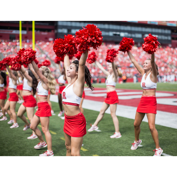 Photo of Rutgers Football 'Cheerleader for a Day' Youth Experience 11/5