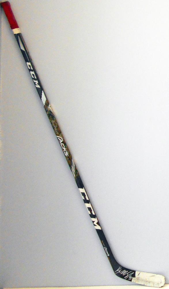 #65 AndreBurakovsky Game Used Stick - Autographed -  Washington Capitals